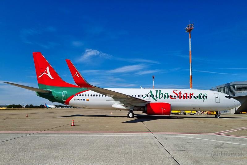 EC-MUB AlbaStar Airlines Boeing 737-86J