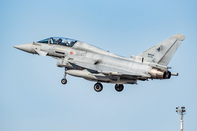 Aeronautica Militare XII Gruppo EF2000B Typhoon