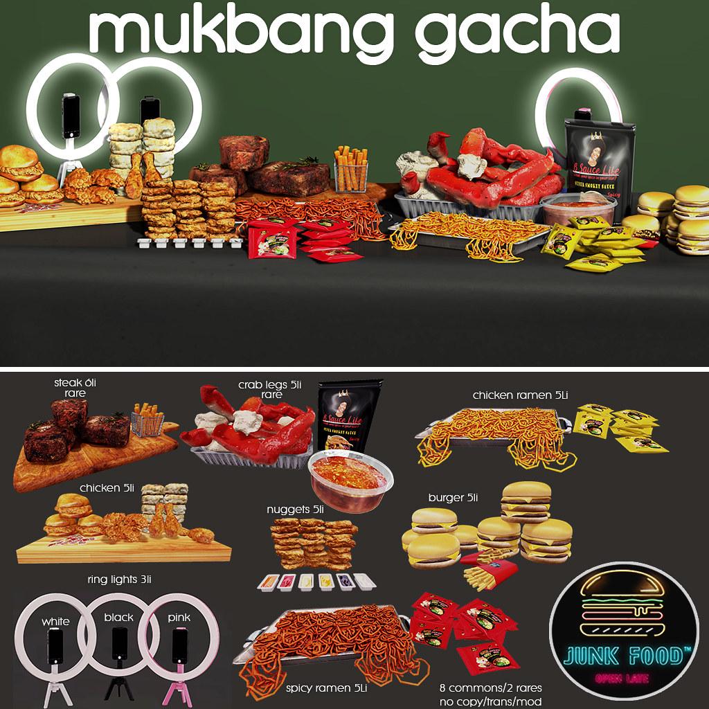 Junk Food – Mukbang Gacha Ad