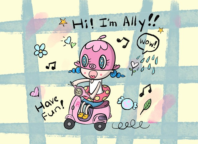 Hi! I'm Ally!