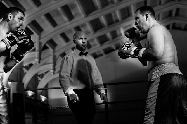 Boxing - white collar fight club