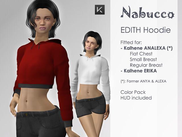 Nabucco Hoodie EDITH for Kalhene