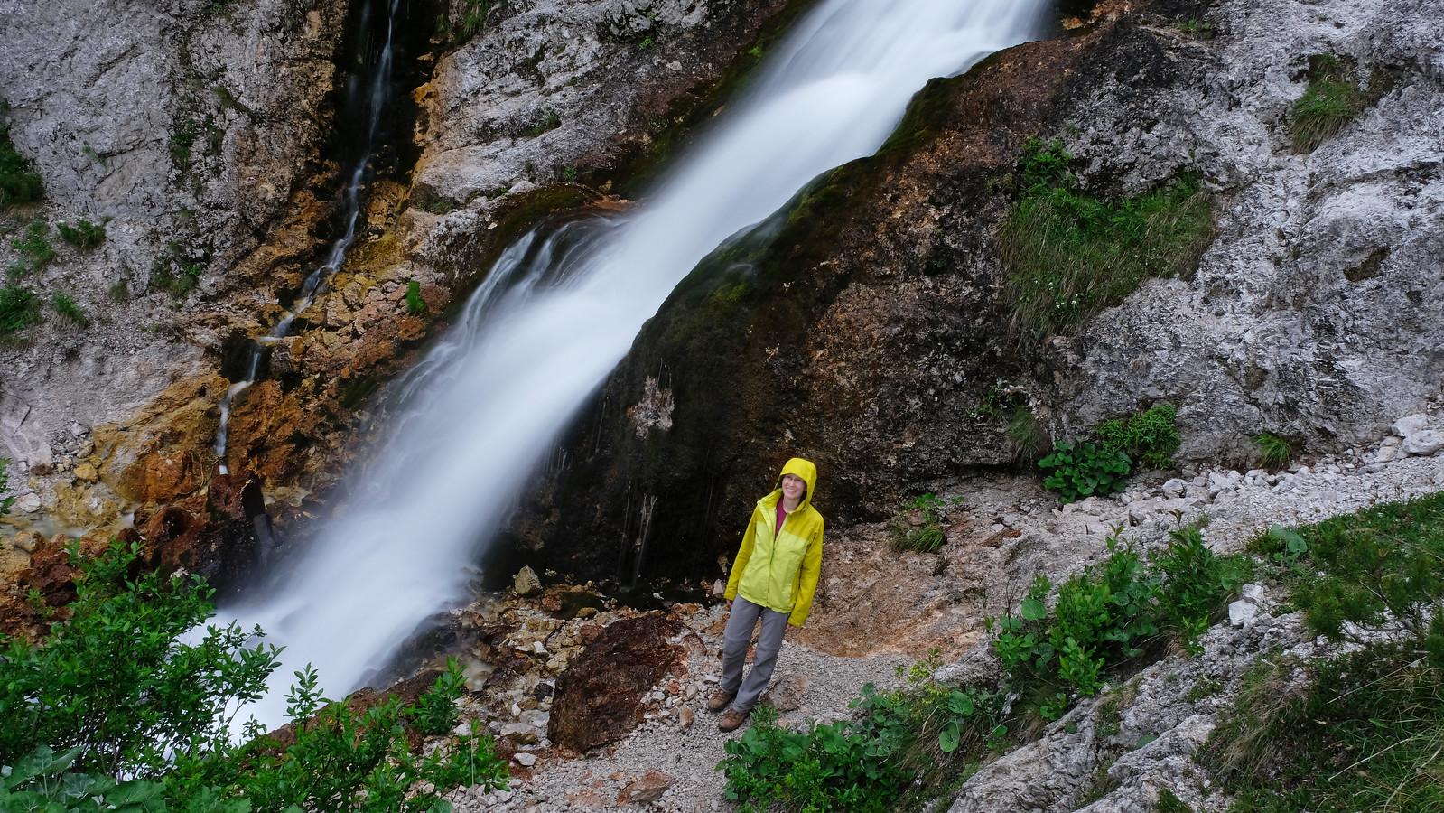 Nadiža waterfall, Slovenia