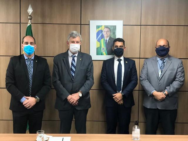 14/07/2021 Reuniões Ministério da Infraestruturas e Secretaria de Portos