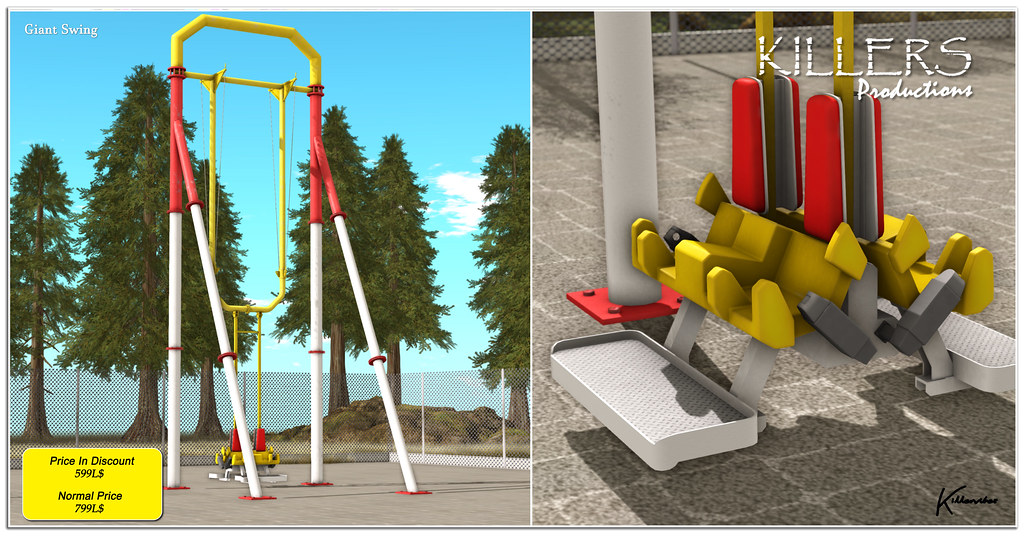 """""""Killer's"""" Giant Swing On Discount @ Access Event Starts from 12th July"""