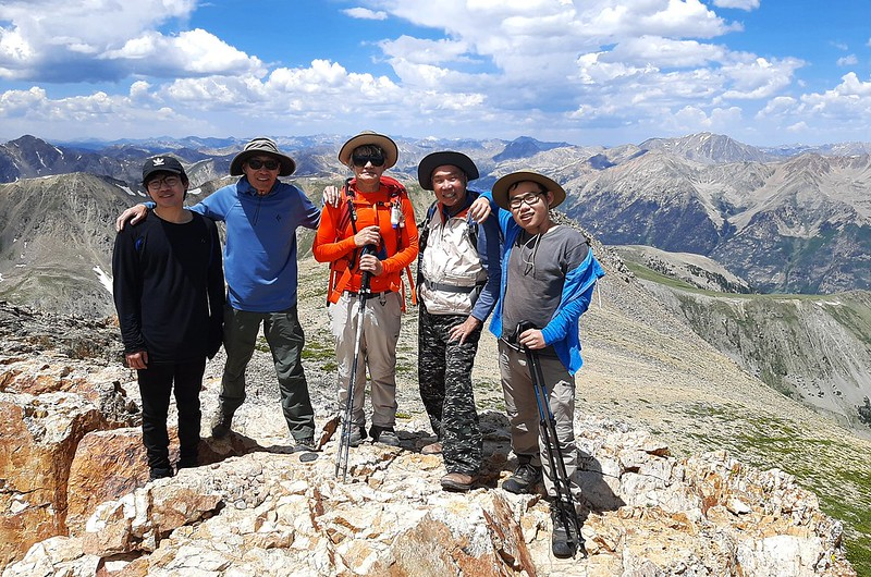 On the summit of Mount Belford (3)