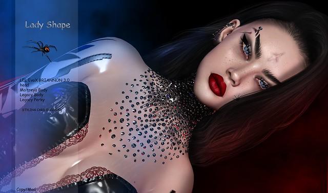 Lady Shape -/ HEAD / lel EvoX BRIANNON 3.0