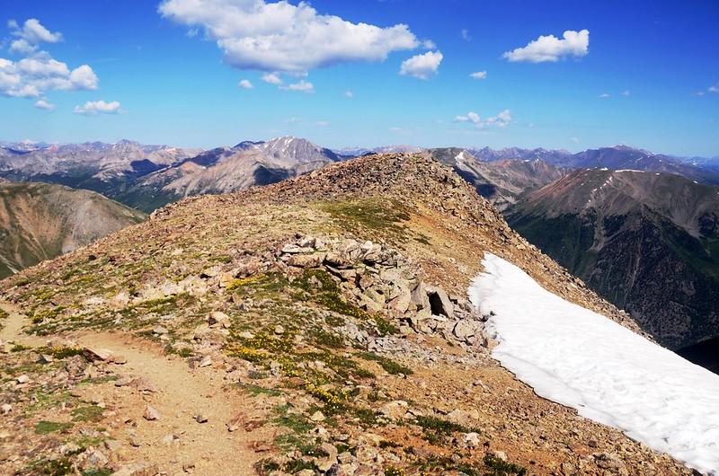 False summit of Mount Belford (2)