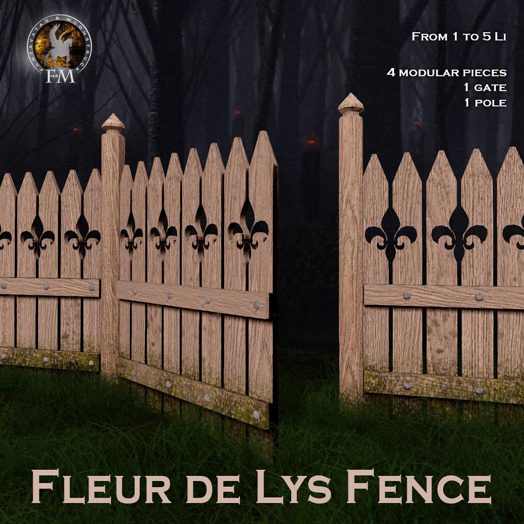 F&M * Fleur de Lys Fence