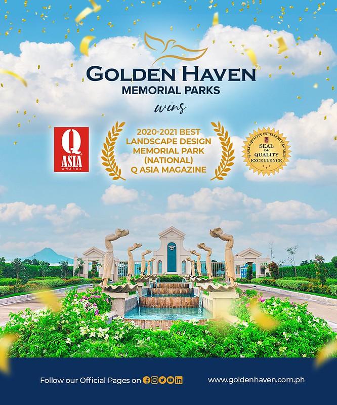 Golden Haven Memorial Park Best Landscape Design in the Philippines (1)