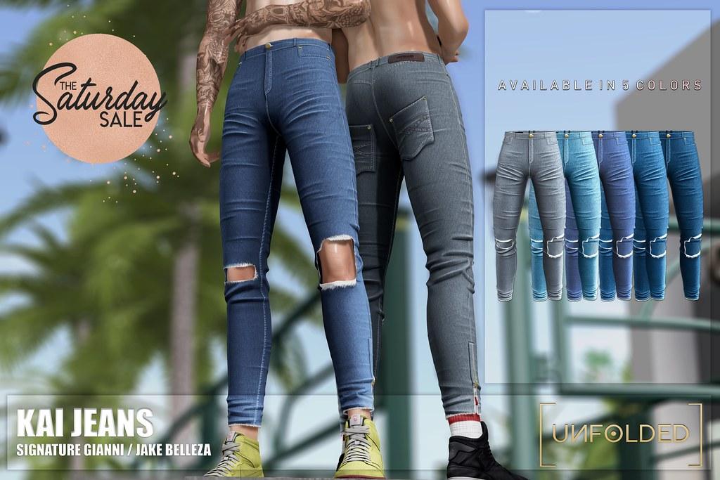 UNFOLDED X Kai Jeans