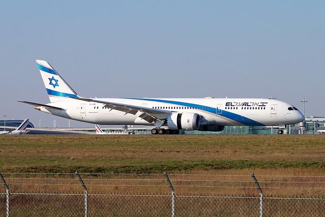 4X-EDE | El Al Israel Airlines | Boeing 787-9 Dreamliner | Paris Charles De Gaulle (CDG / LFPG)