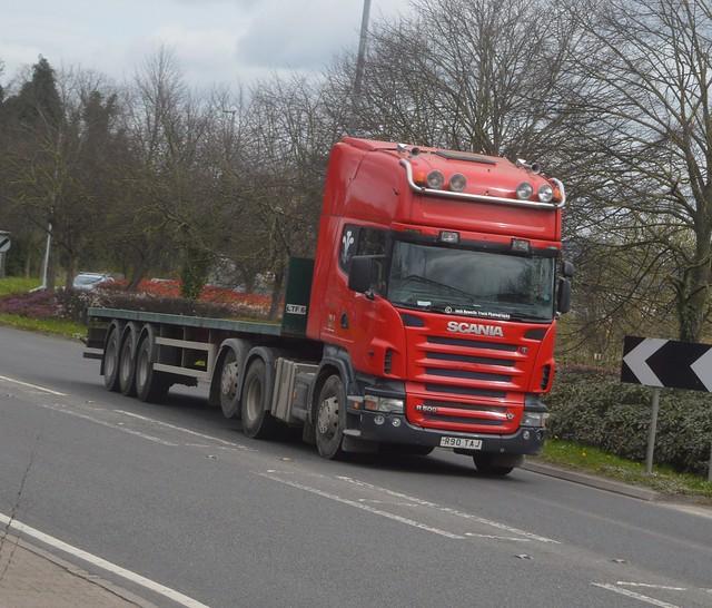 S J Roberts Group R90 TAJ At Welshpool (Ex T Alun Jones)
