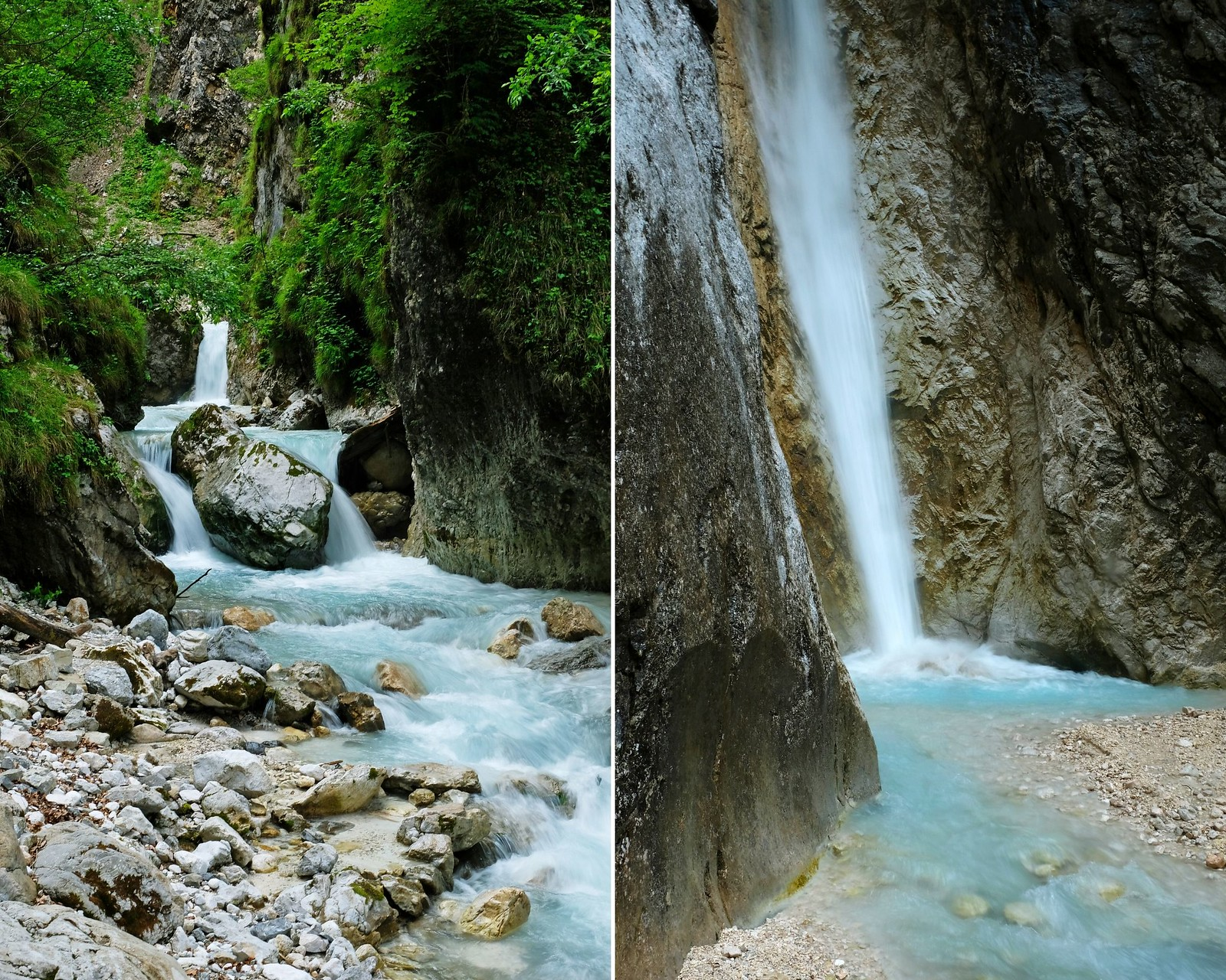 Martuljek Gorge & Upper Martuljek Fall, Slovenia