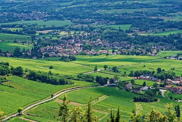 Campagne en Bourgogne