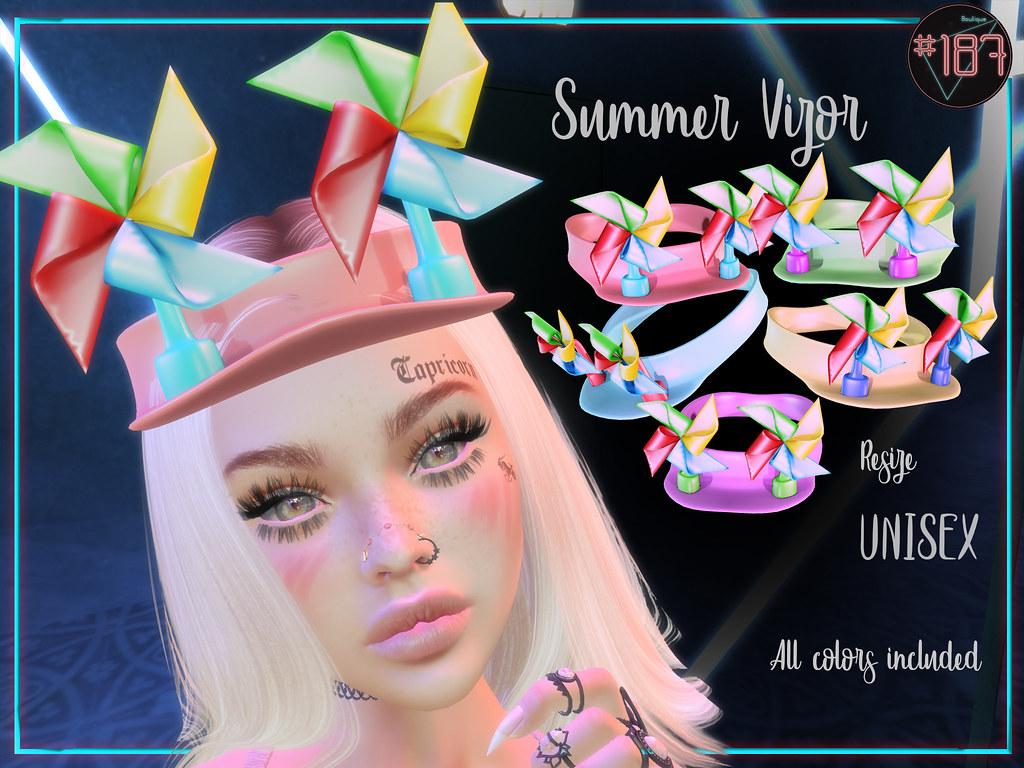 #187# Summer Vizor @ SUMMER CAMP