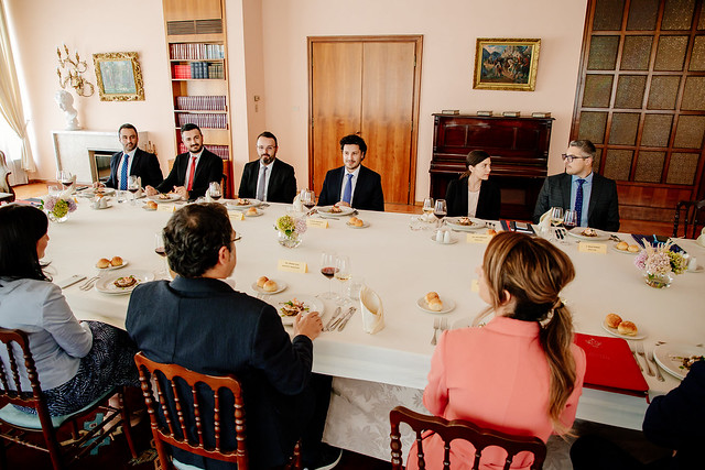 Dritan Abazović - ministri unutrašnjih poslova  i pravde Albanije, Bledi Čuči i Etilda Đonaj