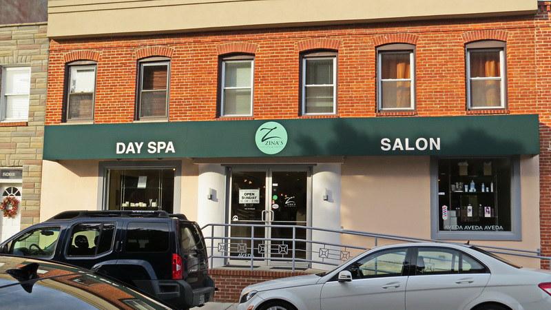 zinas-hair-salon-baltimore-Hoffman Awning