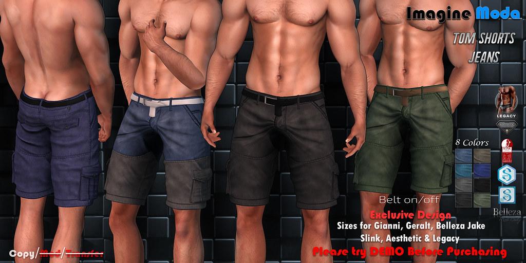 Tom Shorts Jeans
