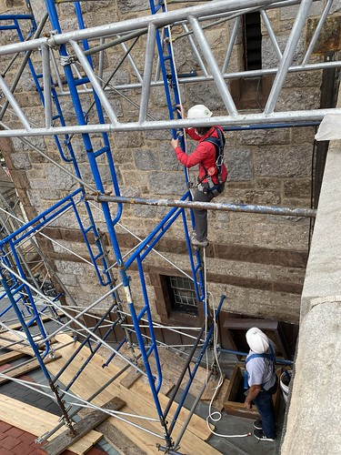 July 14, 2021 - 8:17am - Tower repairs 2021