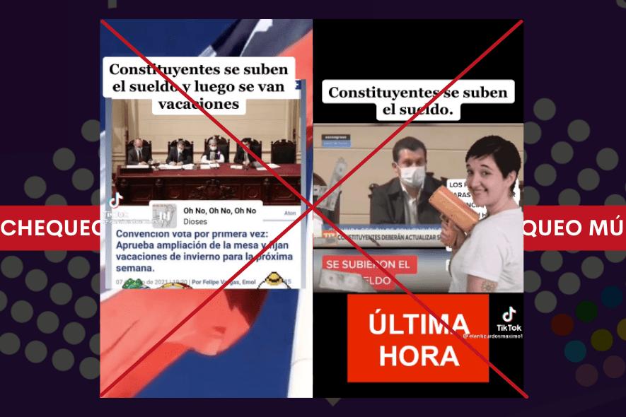 Ni aumento de sueldo ni vacaciones: chequeo a las afirmaciones hechas en videos de TikTok sobre la Convención Constitucional