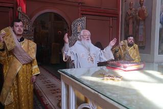 16.07.2021   Литургия в Иверском монастыре