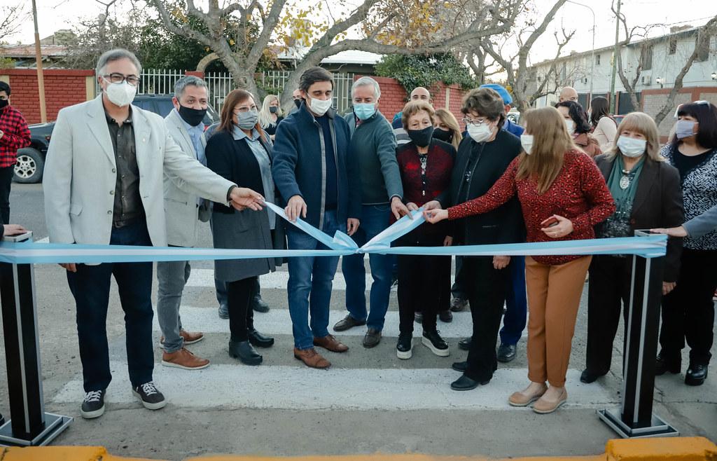 2021-07-16 Inauguración de la plaza de Villa Mallea
