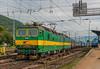 Heavy steel train