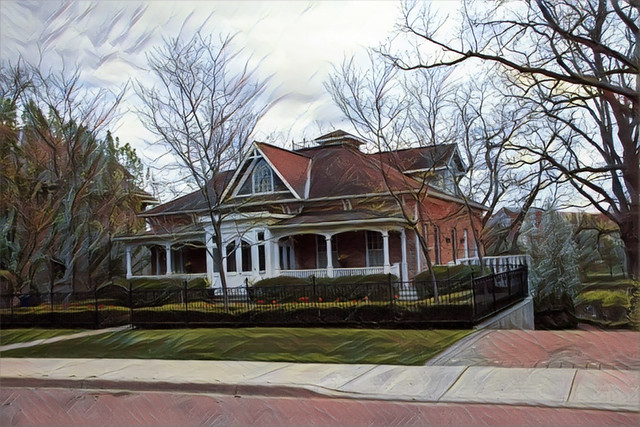 Stratford  Ontario  - Canada - Architecture Cottage with Captains   Walk
