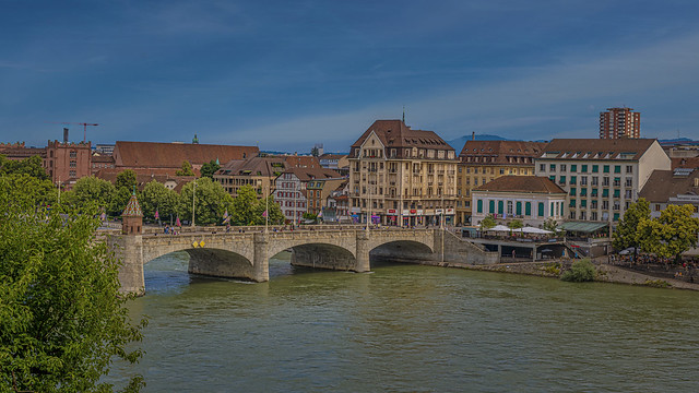 Basel am Rhein, Schweiz