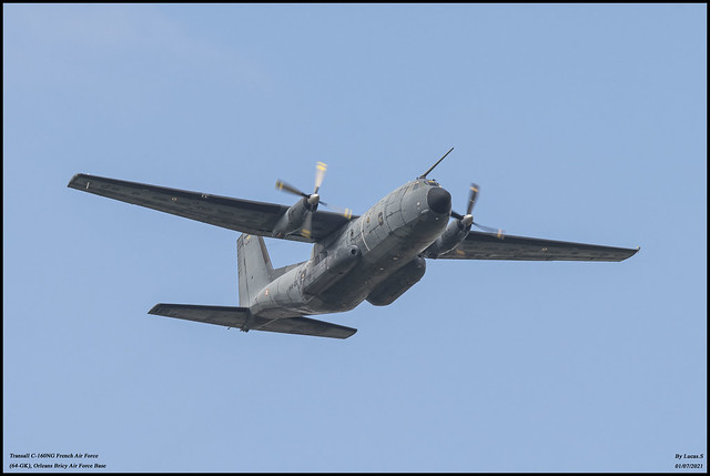 Transall C-160NG Pollux French Air Force (64-GK)