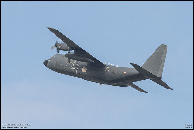 Lokcheed C-130H Hercules French Air Force (61-PC