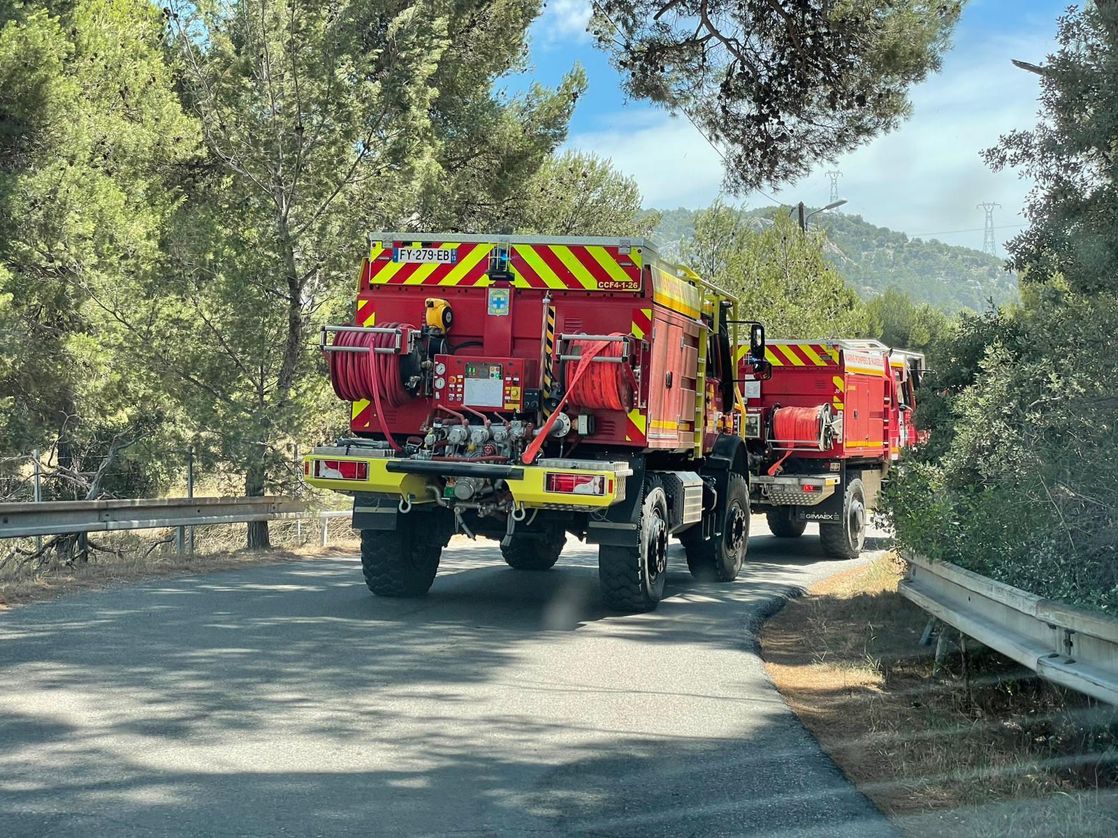 Opérations : Alerte pour les Pompiers13 sur les Pennes-Mirabeau et Rognac