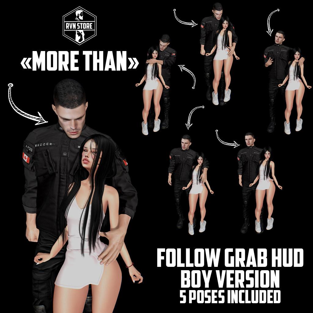 rvn – more than grab/follow HUD