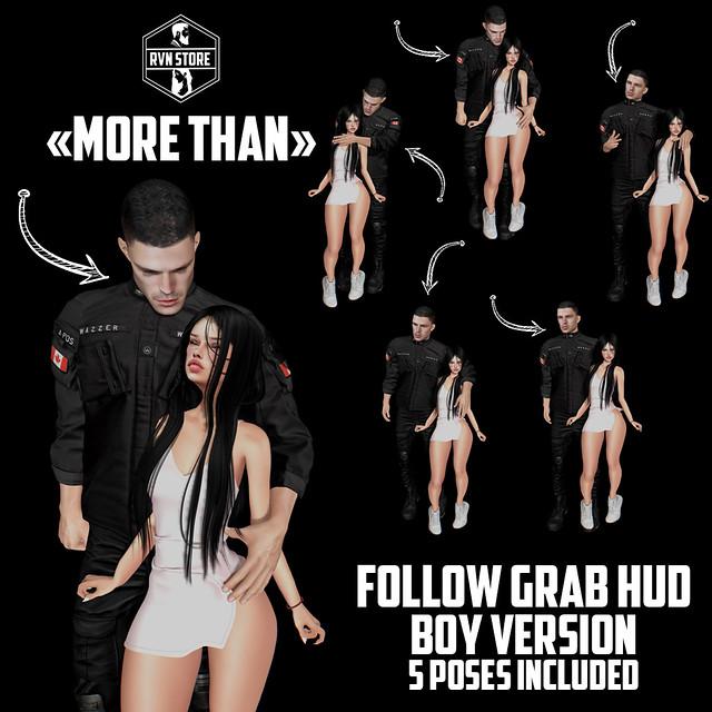 rvn - more than grab/follow HUD