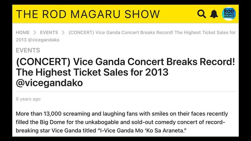 VICE GANDA NEWS