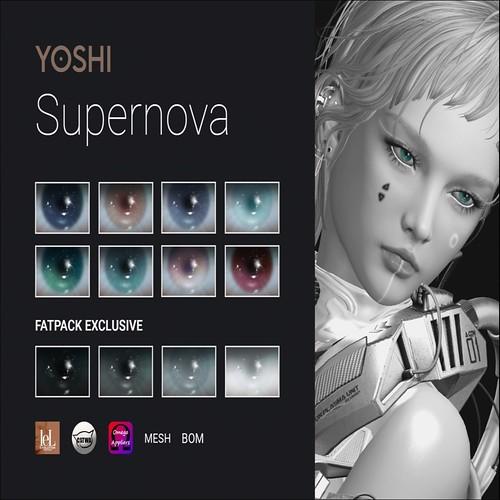 YOSHI - Supernova Eyes - Chronicles&Legends
