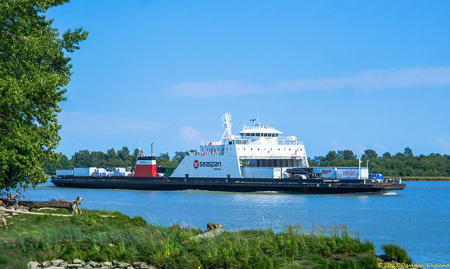 Ferry On The Fraser