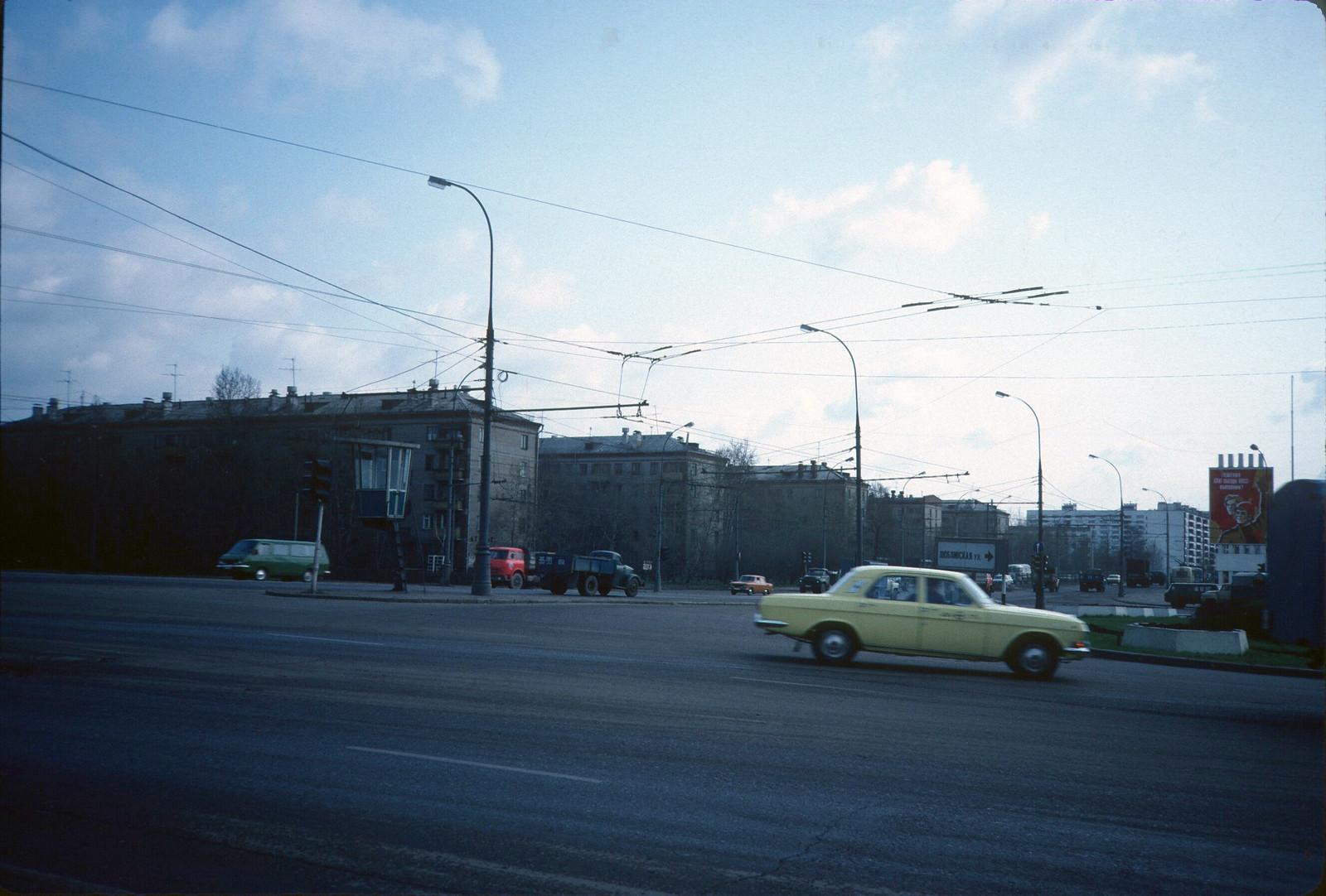 Волгоградский проспект - Люблинская ул.