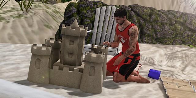 #355 - Sand Castle
