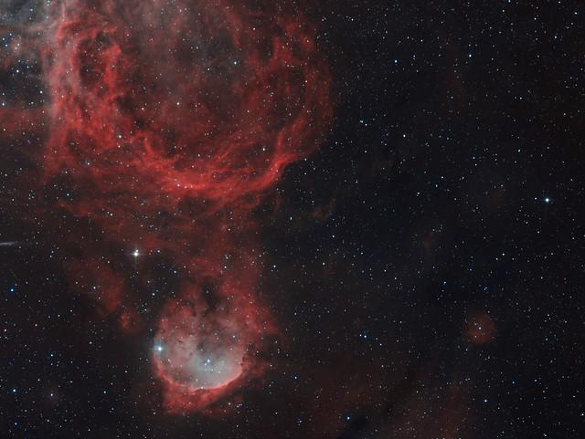 NGC 3324 - Gabriela Mistral Nebula in HOO - Explored July 18, 2021