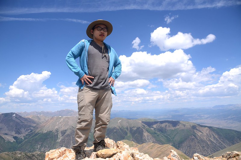 On the summit of Mount Belford (6)