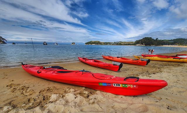 Kayaks Kaiteriteri. NZ