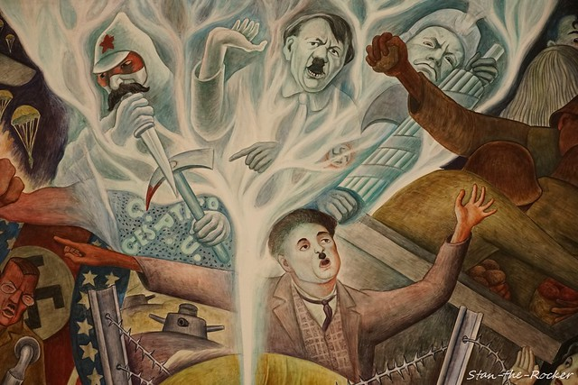 SF MOMA - 071621 - 03 - Diego Rivera's 'Pan American Unity'
