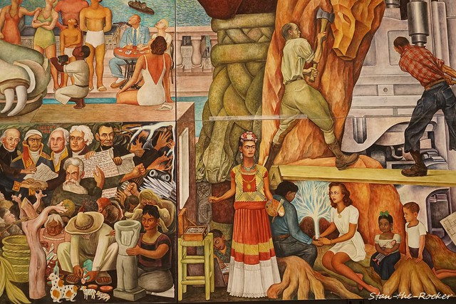 SF MOMA - 071621 - 02 - Diego Rivera's 'Pan American Unity'