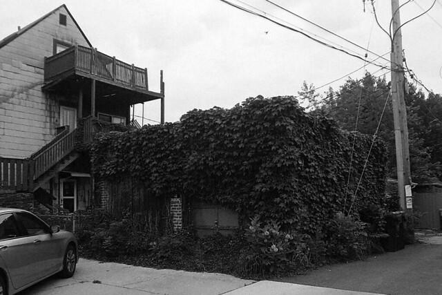 Old garage in Lincoln Square