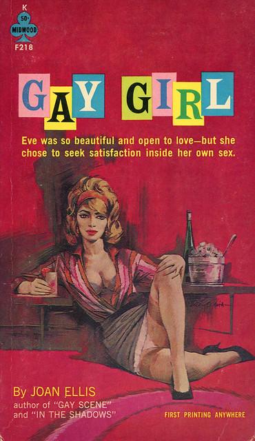Midwood Books F218 - Joan Ellis - Gay Girl