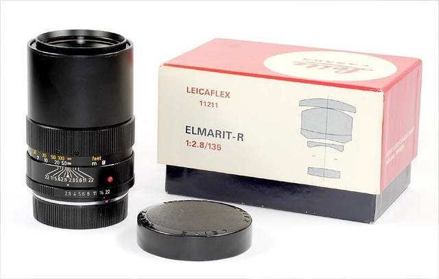 Leica R 135mm f2.8 中片幅解放