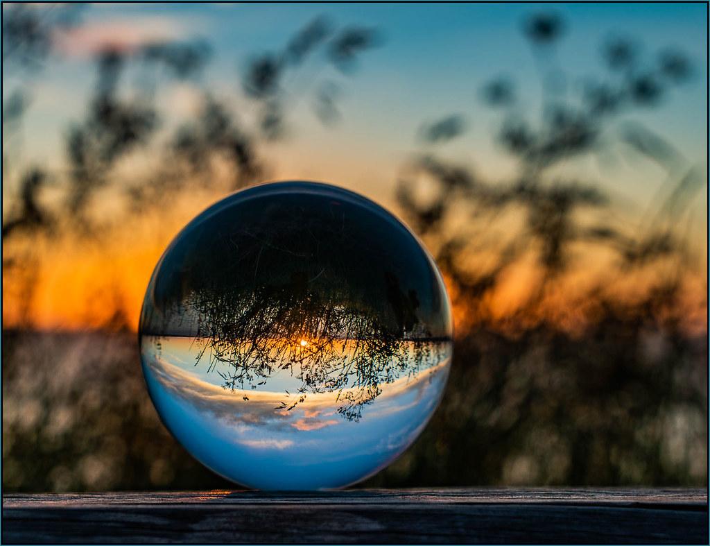 Crystal sunset