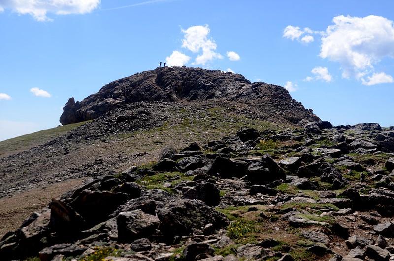 The summit knob of Mount Belford (2)